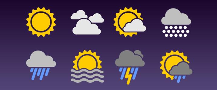 浮动小人改造计划1:修复天气预报